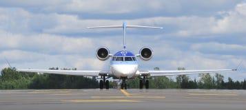 爱沙尼亚语的航空 免版税库存照片