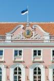 爱沙尼亚语议会 库存照片