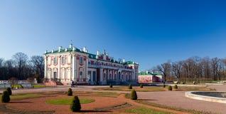 爱沙尼亚kadriorg宫殿塔林 库存照片