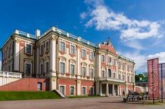 爱沙尼亚kadriorg宫殿塔林 免版税图库摄影