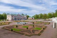 爱沙尼亚kadriorg宫殿塔林 免版税库存照片