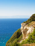 爱琴海视图 库存照片