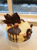 爱的Chocolaite蛋糕 免版税图库摄影