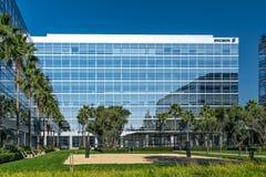 爱立信硅谷公司校园 免版税库存照片