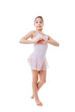 爱芭蕾跳舞 库存图片