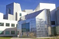 爱荷华大学的激光实验室,衣阿华市,衣阿华 库存照片