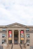 爱荷华州立大学的Curtiss霍尔 免版税库存图片