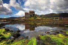 爱莲・朵娜城堡苏格兰英国 免版税库存照片