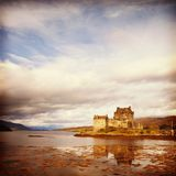 爱莲・朵娜城堡高地苏格兰 免版税库存图片