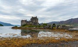 爱莲・朵娜城堡,海湾Duid -高地,苏格兰,英国 免版税图库摄影