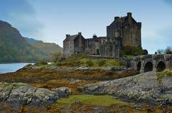 爱莲・朵娜城堡苏格兰 库存照片