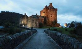 爱莲・朵娜城堡 库存图片
