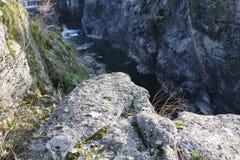 爱达荷峡谷 免版税图库摄影