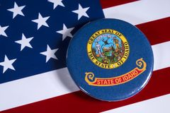 爱达荷州在美国 免版税库存图片