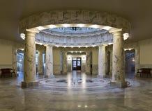 爱达荷状态国会大厦大厦的中心 图库摄影