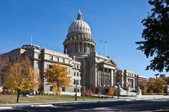 爱达荷状态国会大厦,博伊西,爱达荷 免版税库存图片