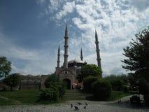 爱迪尔内清真寺selimiye 库存图片