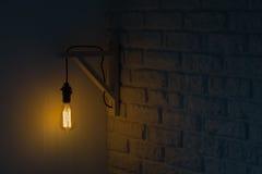 爱迪生样式电灯泡 免版税库存图片