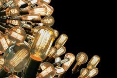 爱迪生电灯泡 免版税库存照片