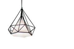 爱迪生` s电灯泡和灯在现代样式 库存图片