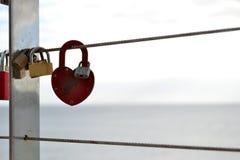 爱锁  库存照片