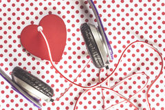 爱音乐概念 图库摄影