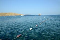 爱琴海在土耳其 免版税图库摄影