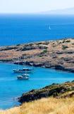 爱琴海在土耳其 免版税库存照片