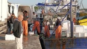 爱琴海海岸,季季姆,土耳其- 2015年10月17日 股票视频