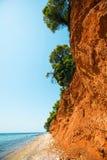 爱琴海海岸  库存照片