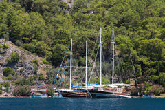 爱琴海海岸 免版税图库摄影