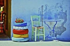 爱琴海颜色 免版税库存照片