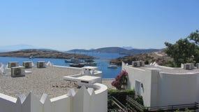 爱琴海,博德鲁姆 免版税库存图片