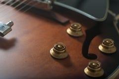 爵士乐吉他 库存图片