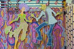爵士乐舞蹈家 库存图片