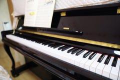 爵士乐钢琴钥匙 库存照片