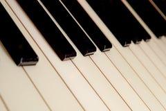 爵士乐钢琴钥匙 免版税图库摄影