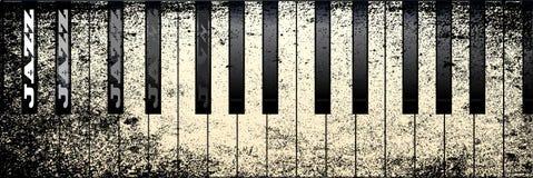 爵士乐钢琴 库存图片
