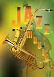爵士乐仪器 免版税图库摄影