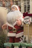 父亲圣诞节模型布鲁日 库存图片