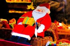 父亲圣诞节玩具 库存照片
