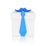 父亲节(创造性的礼物盒) 库存照片