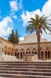 父亲Noster,橄榄山,耶路撒冷的教会 库存照片