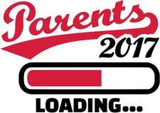 父母2017年装载 向量例证