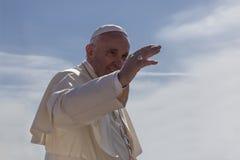 爸爸弗朗切斯科- Bergoglio 免版税库存图片