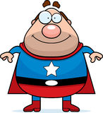 爸爸超级英雄 库存图片