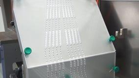 片剂是制作的在植物 影视素材