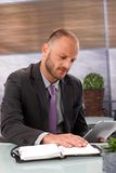 片剂计算机对个人组织者 免版税库存照片