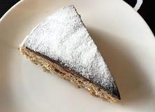 片式巧克力蛋糕 库存照片