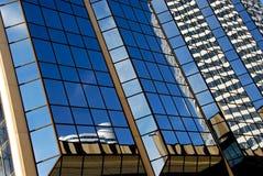 片段摩天大楼 免版税库存照片